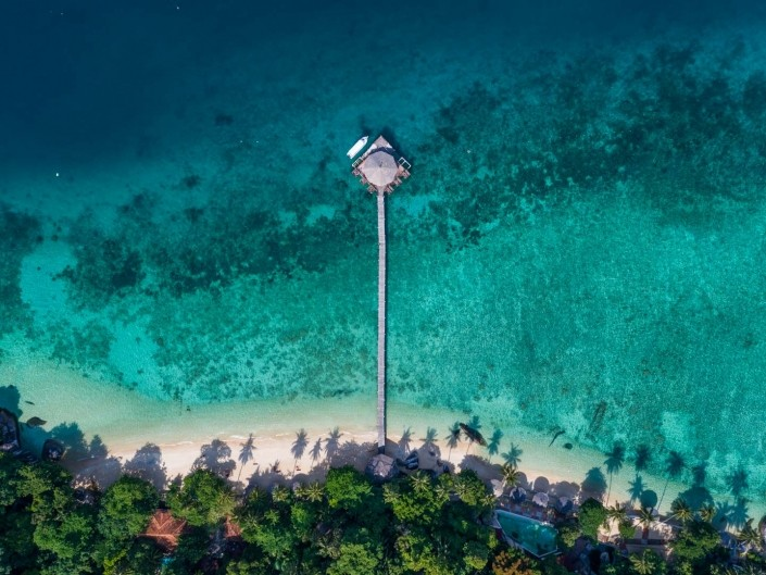 Tioman Island Malaysia Pescart Travel Photo Blog Enrico Pescantini aerial view drone 3