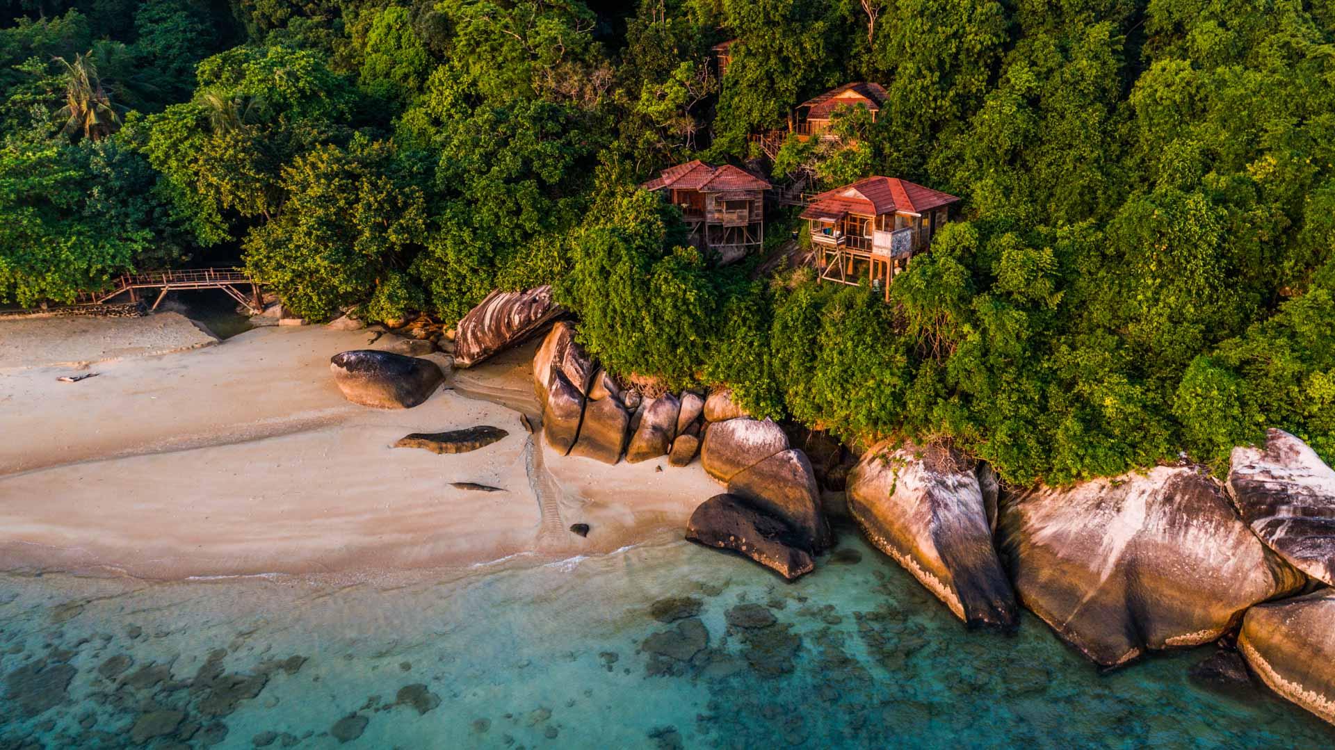 Tioman Island Malaysia Pescart Travel Photo Blog Enrico Pescantini aerial view drone 6
