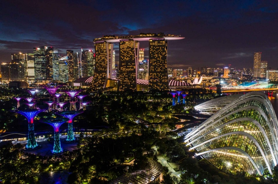 Singapore: the asian pearl of architecture, gardens and skyscrapers!