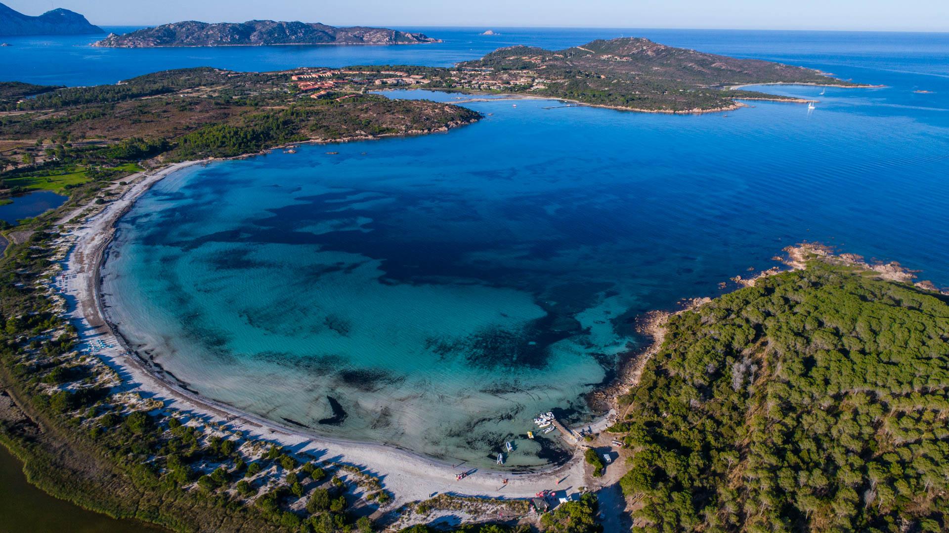 Cala Brandinchi 2 Sardinia Aerial Photography drone Enrico Pescantini