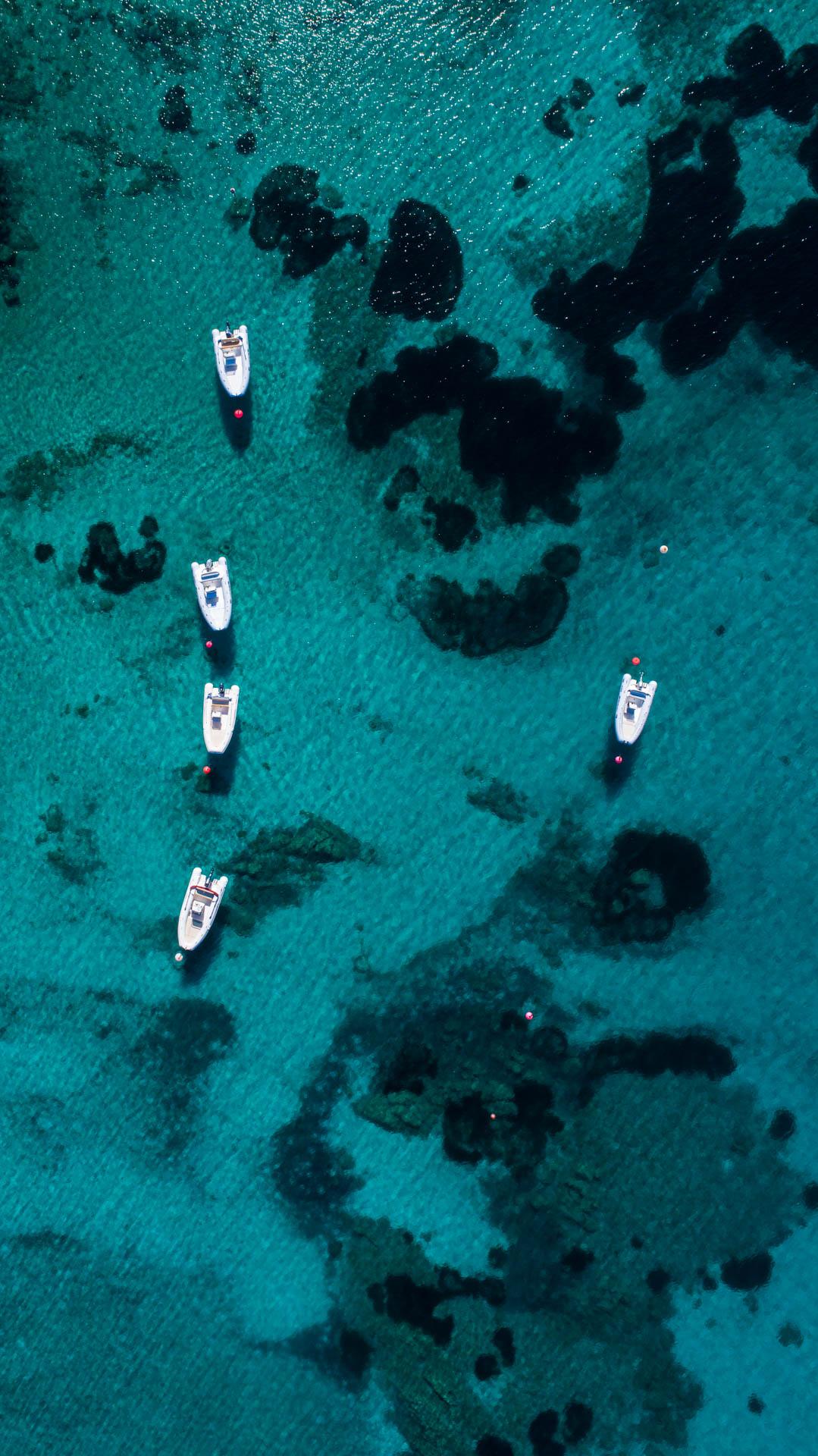 Cala Suaraccia Sardinia Tavolara Aerial Photography drone Enrico Pescantini