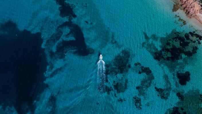 Capo di Coda Cavallo Sardinia Aerial Photography drone Enrico Pescantini