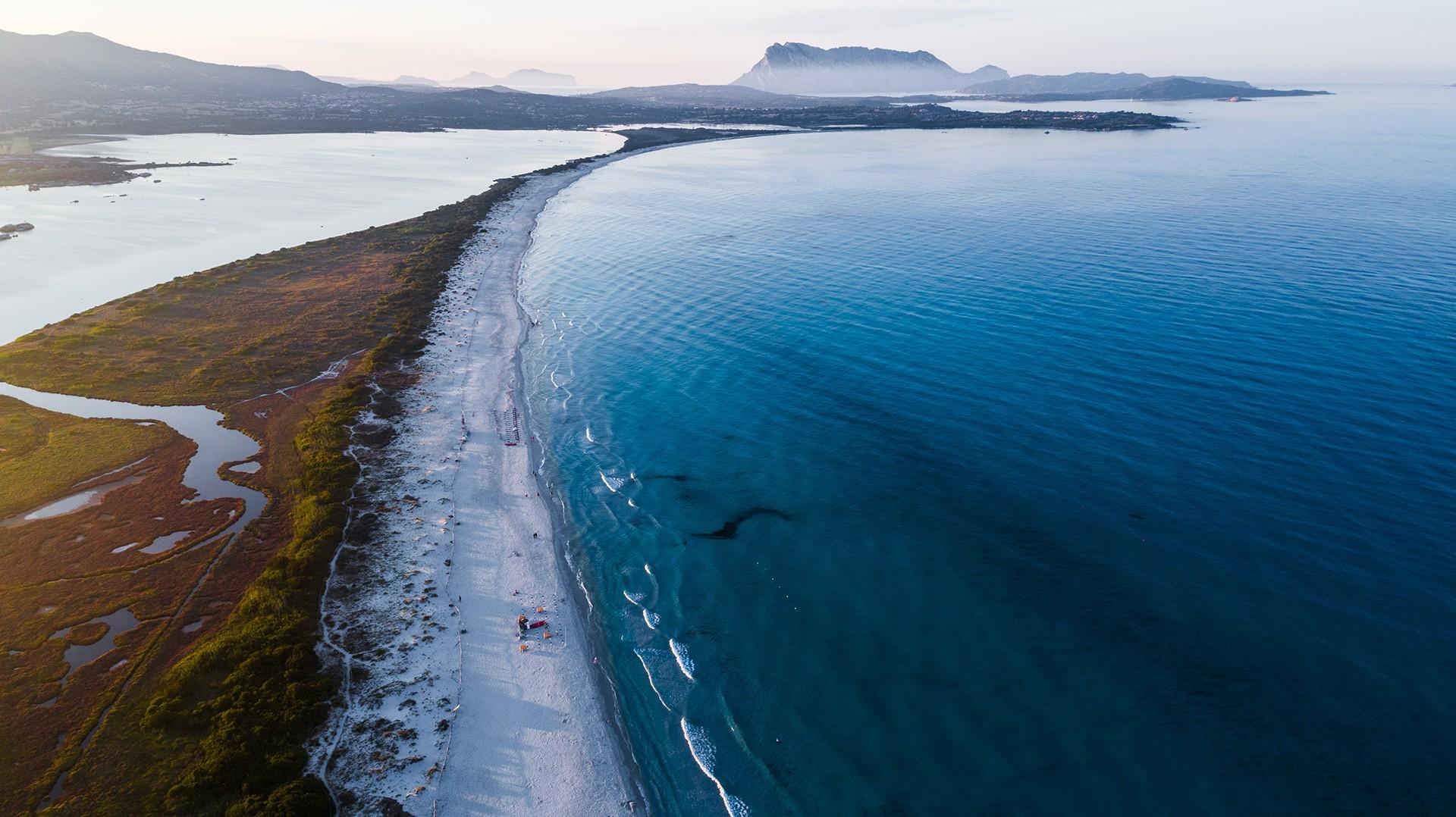 La Cinta - San Teodoro Sardinia Sardinia Aerial Photography drone Enrico Pescantini