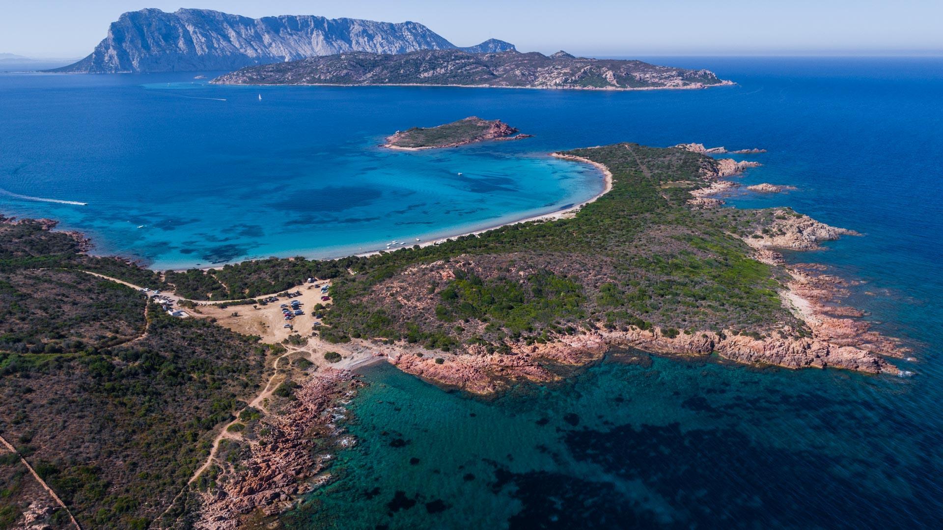 Spiaggia di Punta Est Sardinia Aerial Photography drone Enrico Pescantini