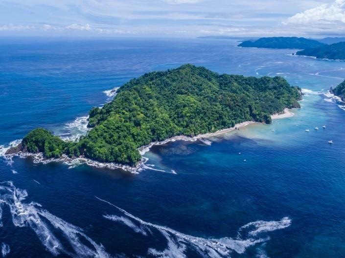 Island Tortuga Costa Rica From Above Enrico Pescantini