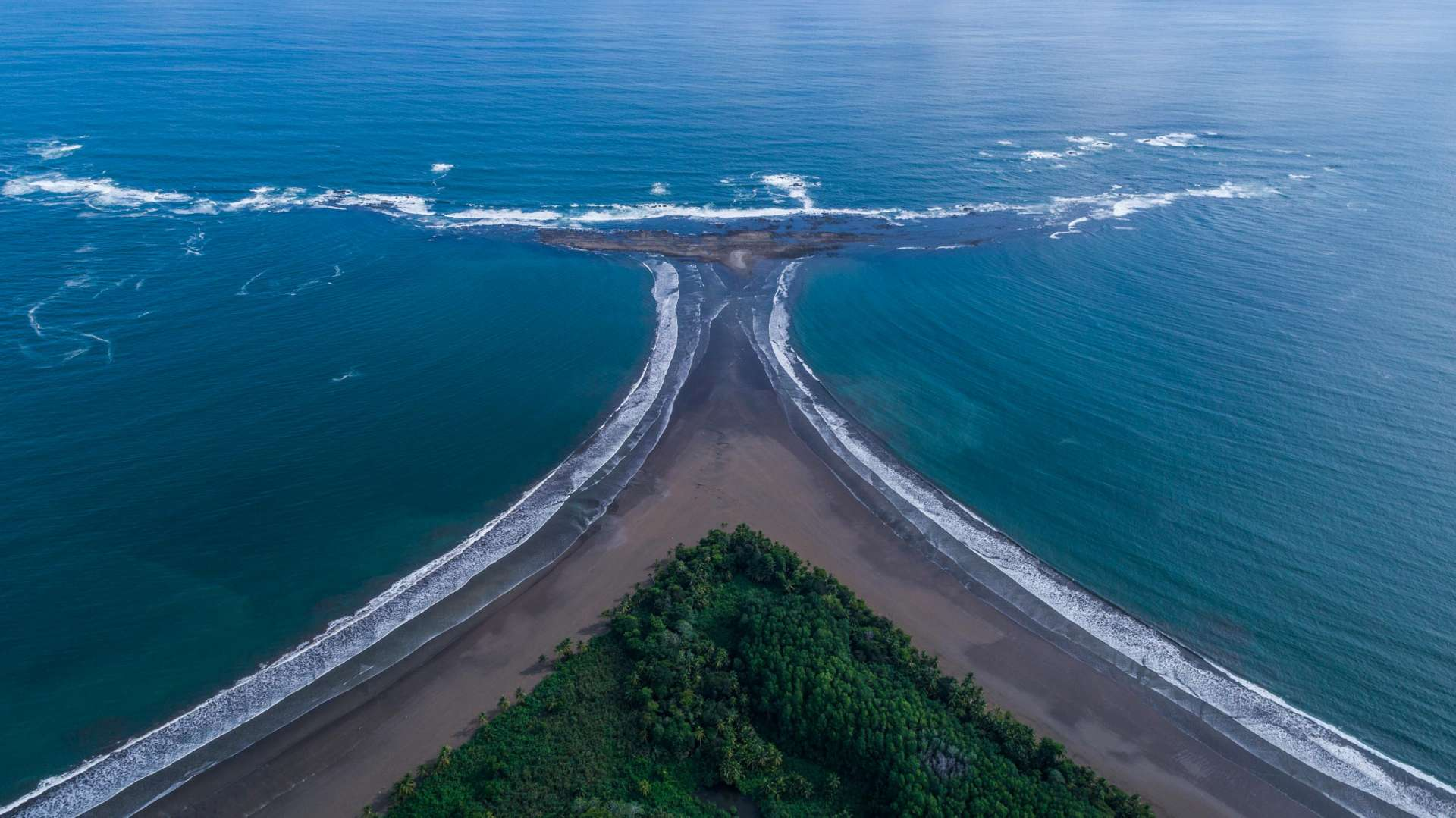 Punta Ballena Costa Rica From Above Enrico Pescantini