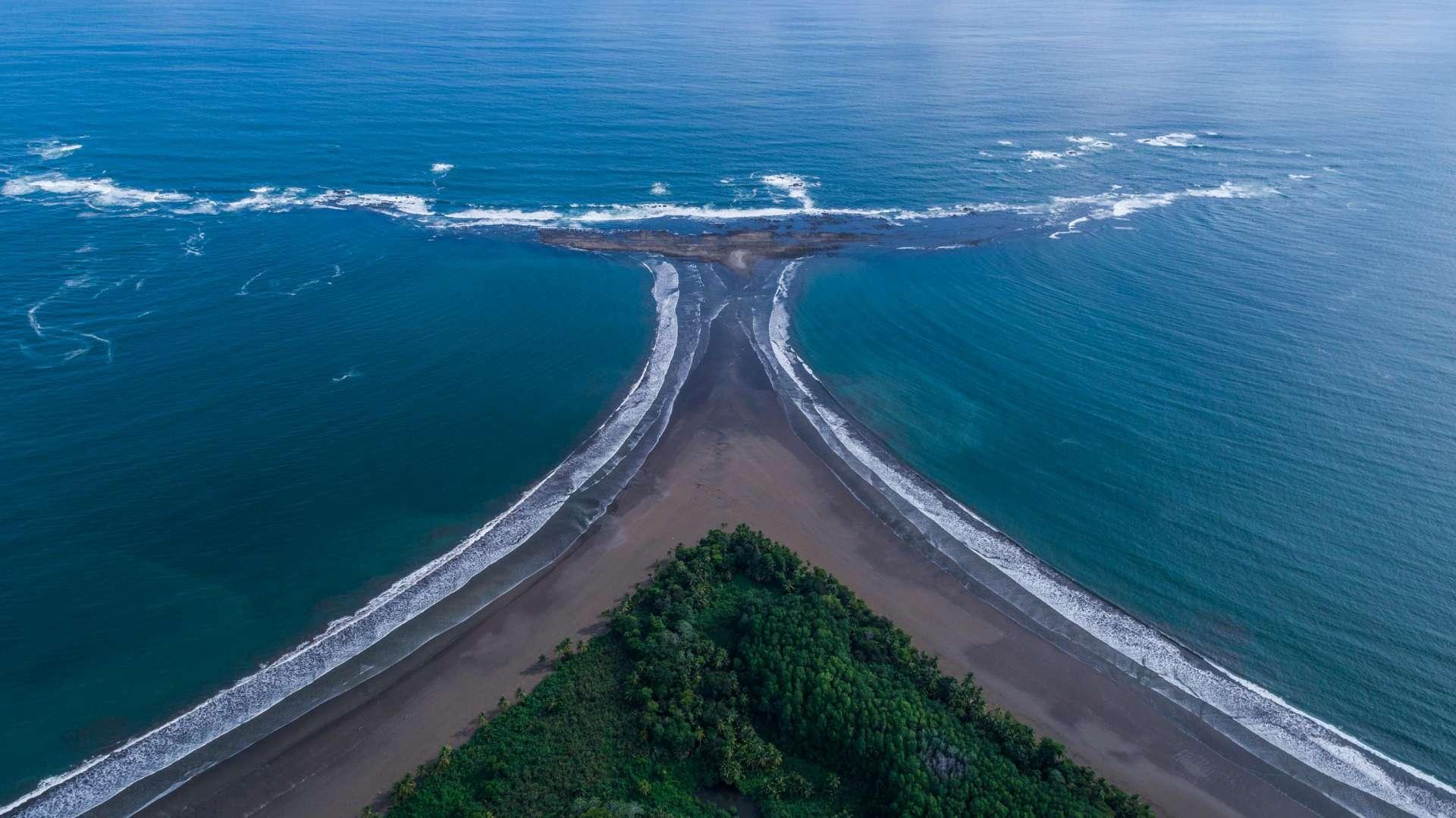 Punta Ballena Costa Rica From Above Enrico Pescantini