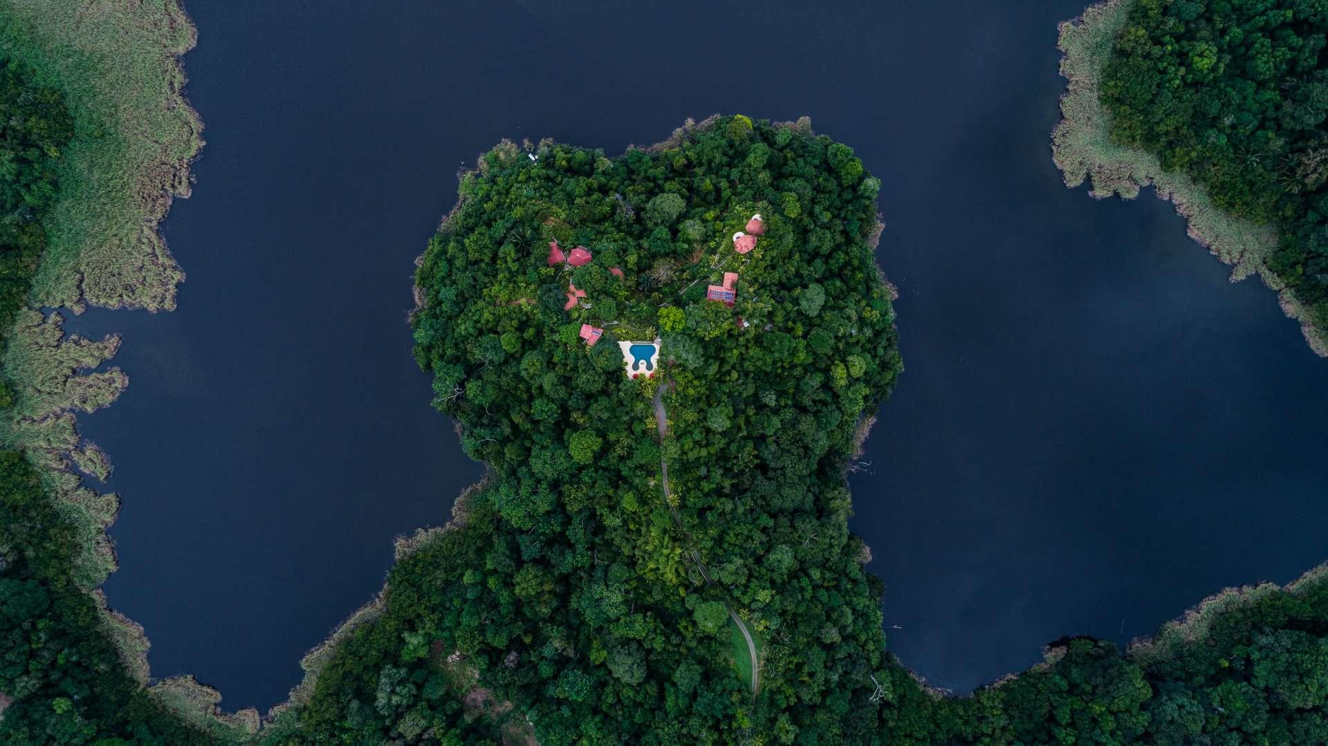 Carate Jungle Resort Costa Rica From Above Enrico Pescantini
