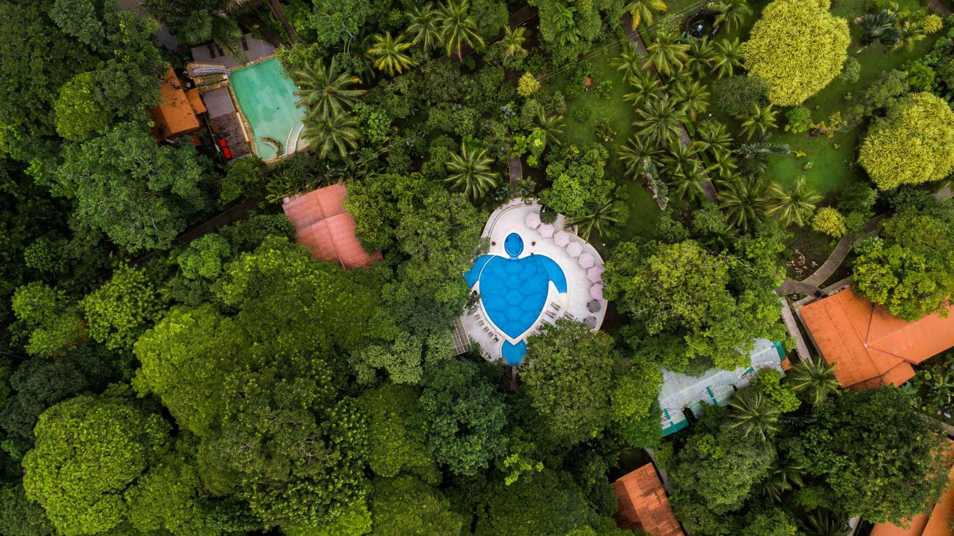 Costa Rica From Above Enrico Pescantini Tortuguero Resort
