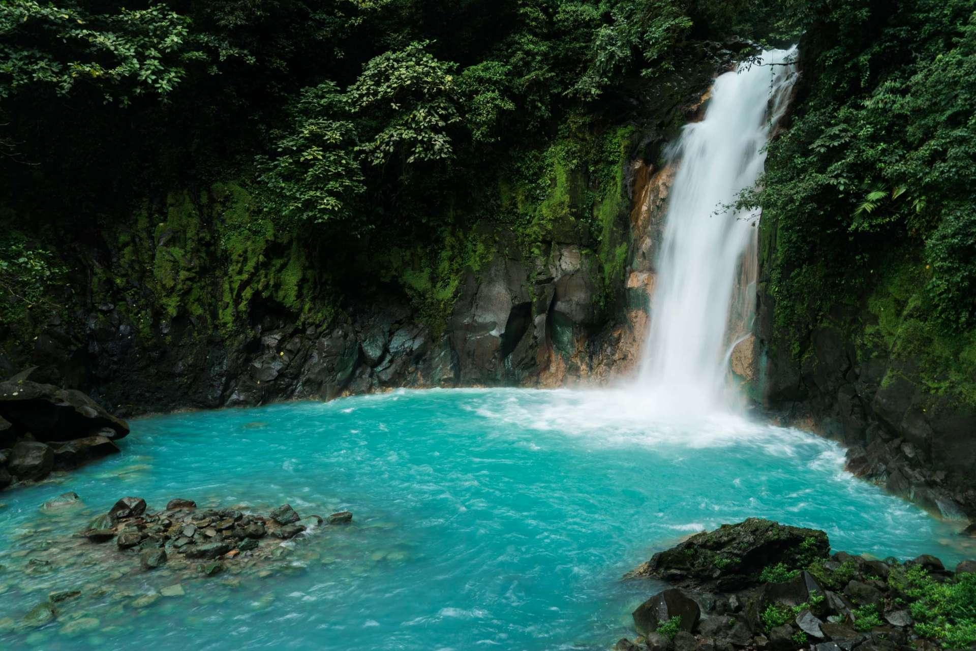 Costa Rica Enrico Pescantini Pescart Rio Celeste Waterfall 3