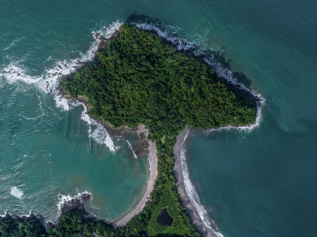 Costa Rica From Above Enrico Pescantini Manuel Antonio National Park Tombolo