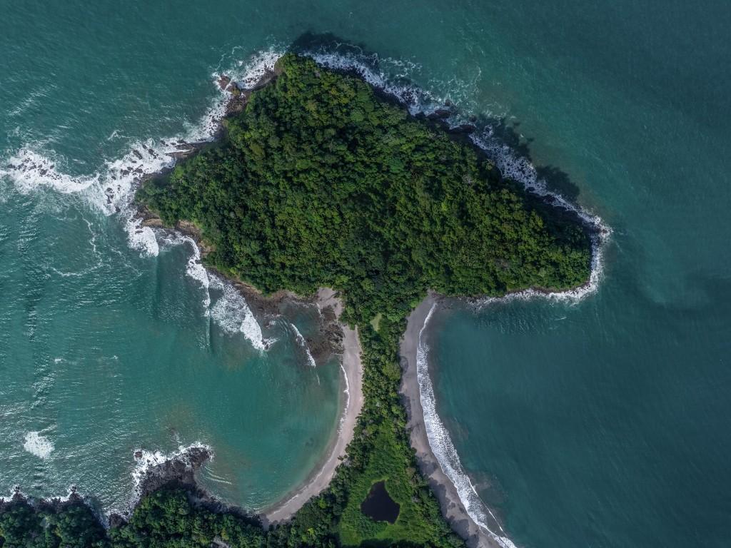 Costa Rica From Above Enrico Pescantini Manuel Antonio National Park Tombolo