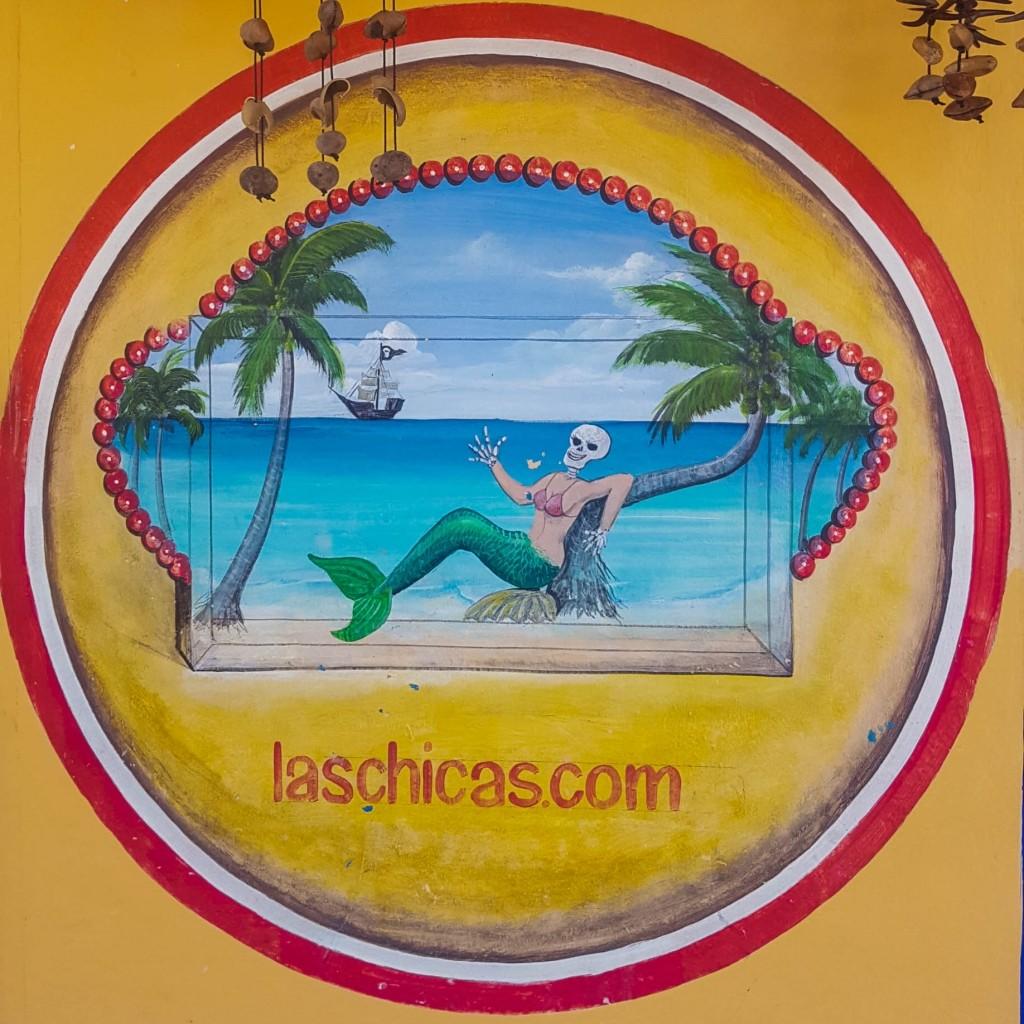 Isla Holbox Island Mexico Enrico Pescantini Pescart Travel Blog Graffiti wall art 9