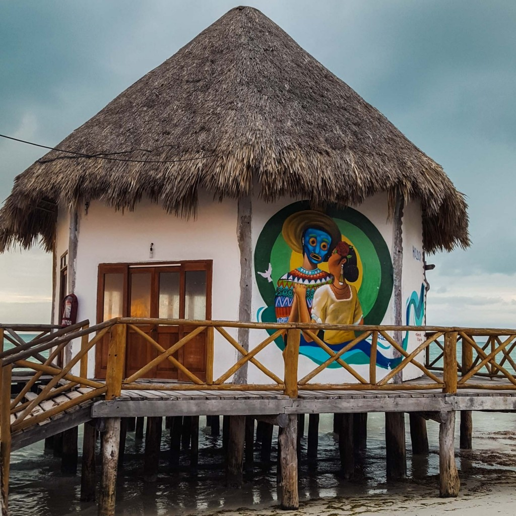 Isla Holbox Island Mexico Enrico Pescantini Pescart Travel Blog Graffiti wall art 4