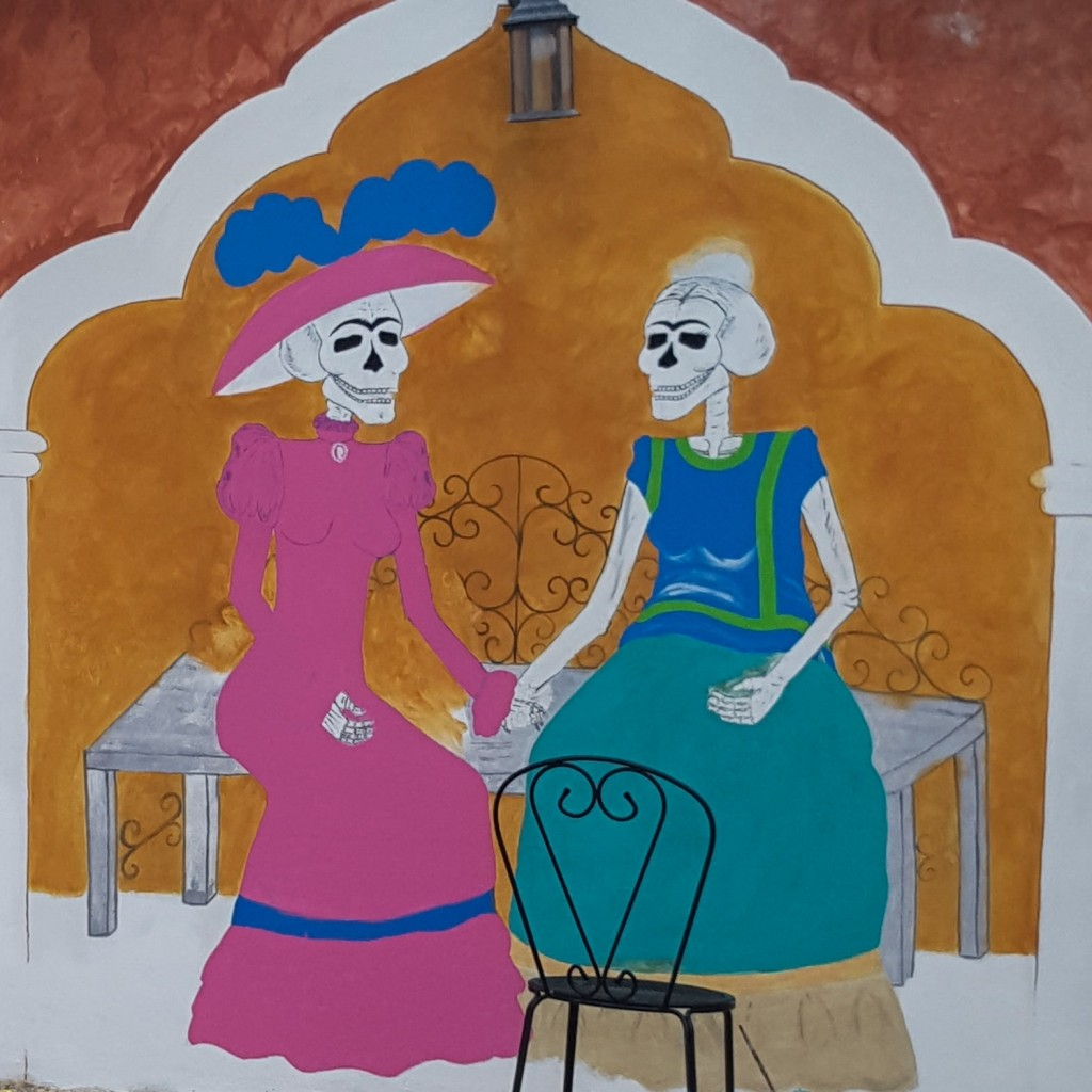 Isla Holbox Island Mexico Enrico Pescantini Pescart Travel Blog Graffiti wall art 3