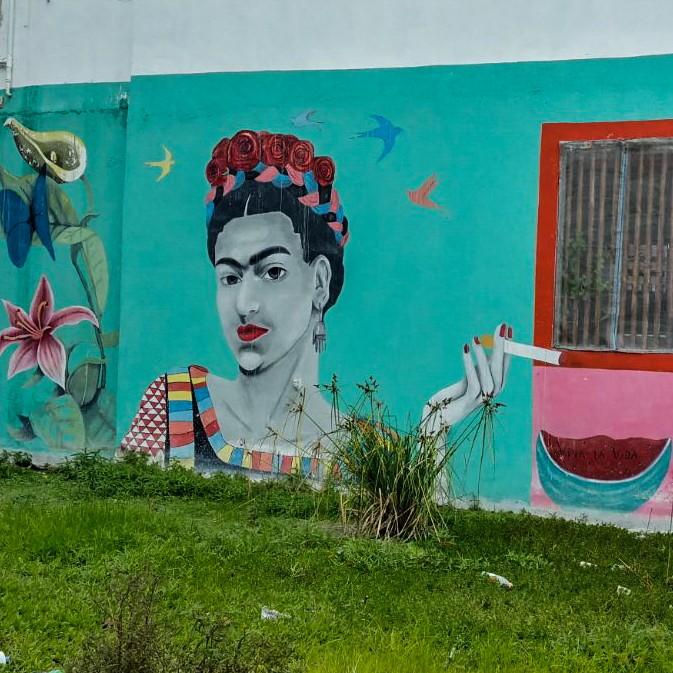 Isla Holbox Island Mexico Enrico Pescantini Pescart Travel Blog Graffiti wall art 2