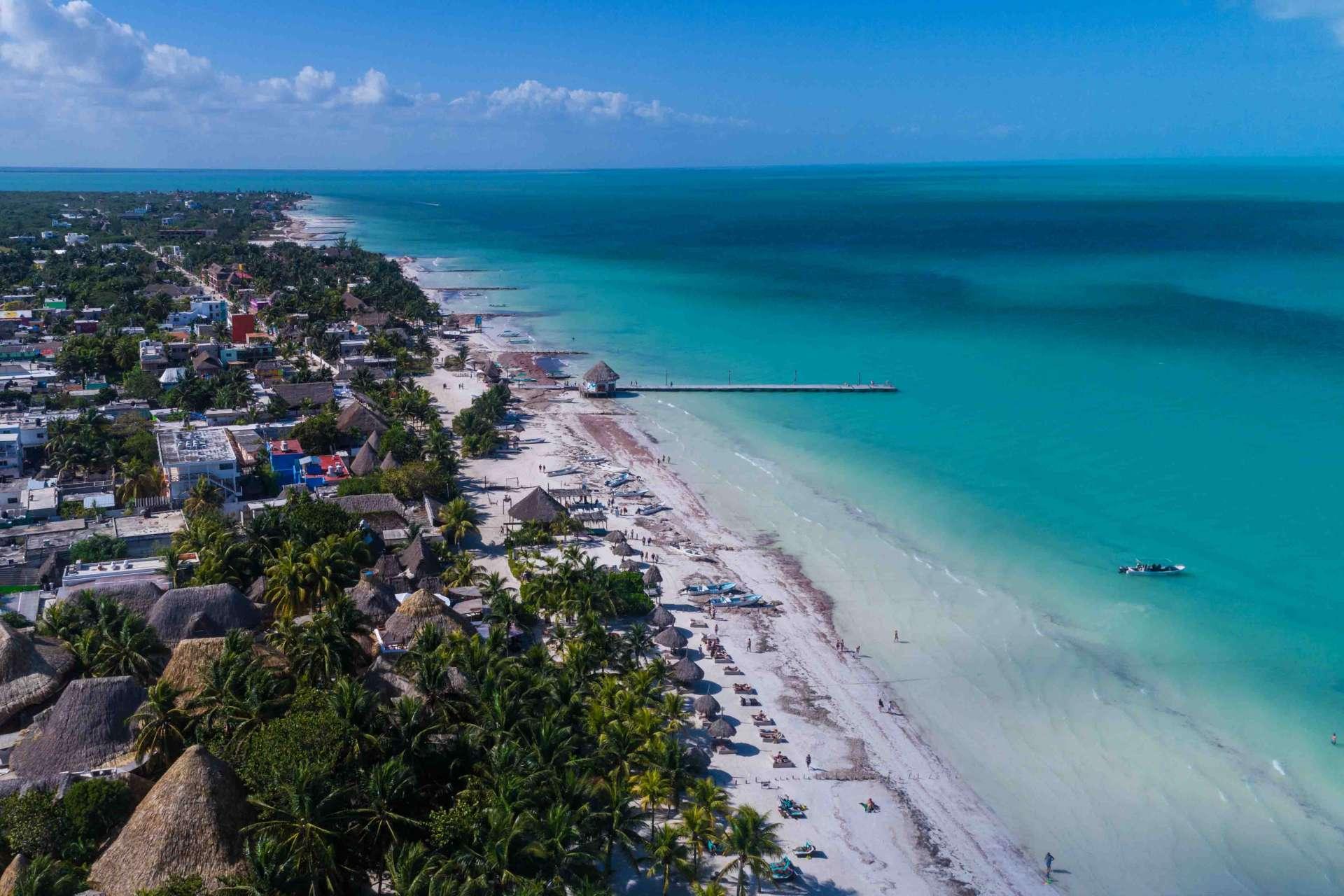Isla Holbox Island Mexico Enrico Pescantini Pescart Travel Blog Aerial Drone FromAbove