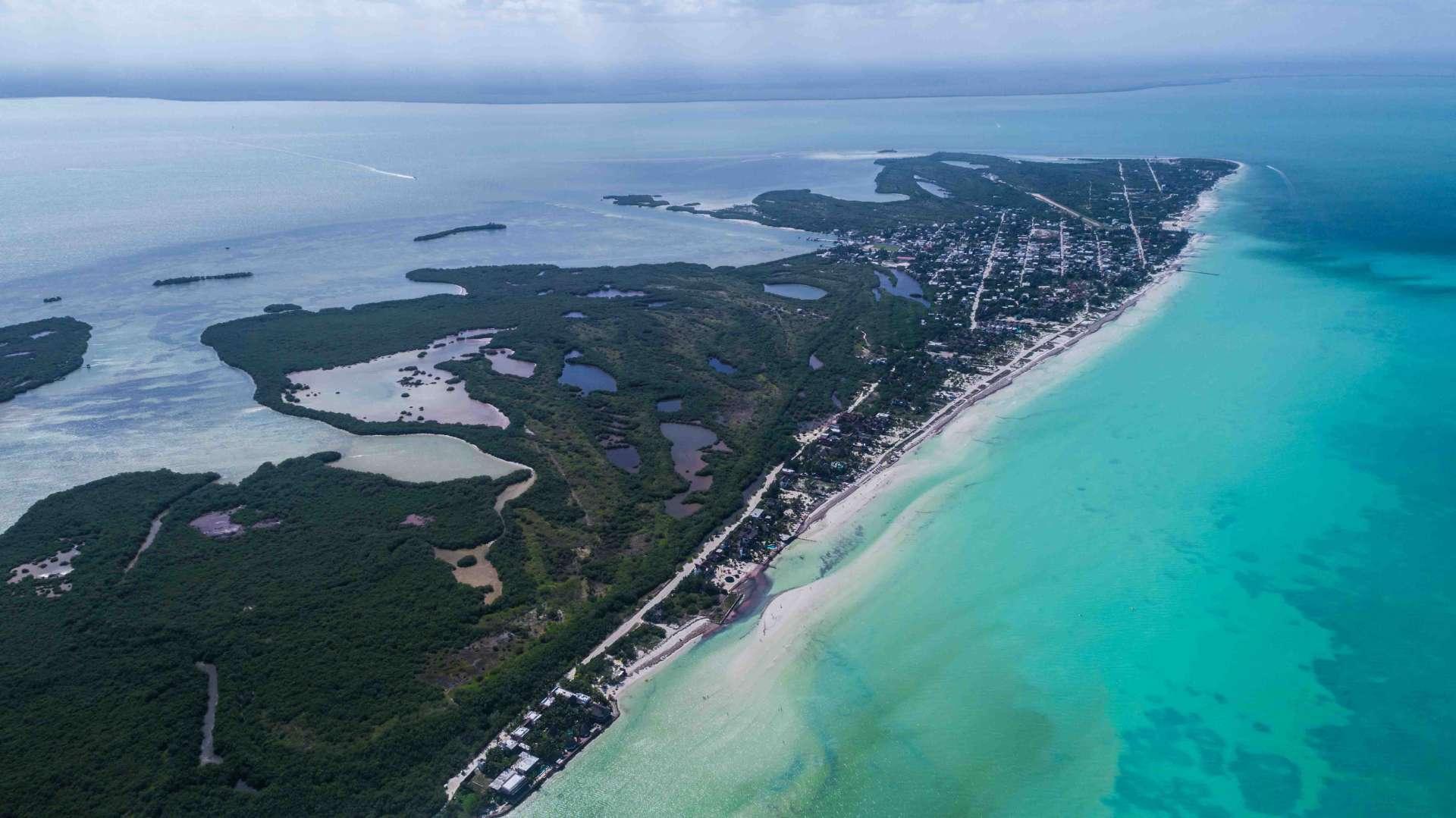 Isla Holbox Island Mexico Enrico Pescantini Pescart Travel Blog Aerial Drone FromAbove 2