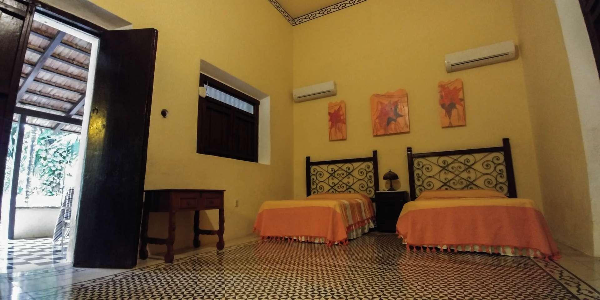 Hacienda Yaxcopoil Mexico Yucatan Merida Enrico Pescantini Pescart room