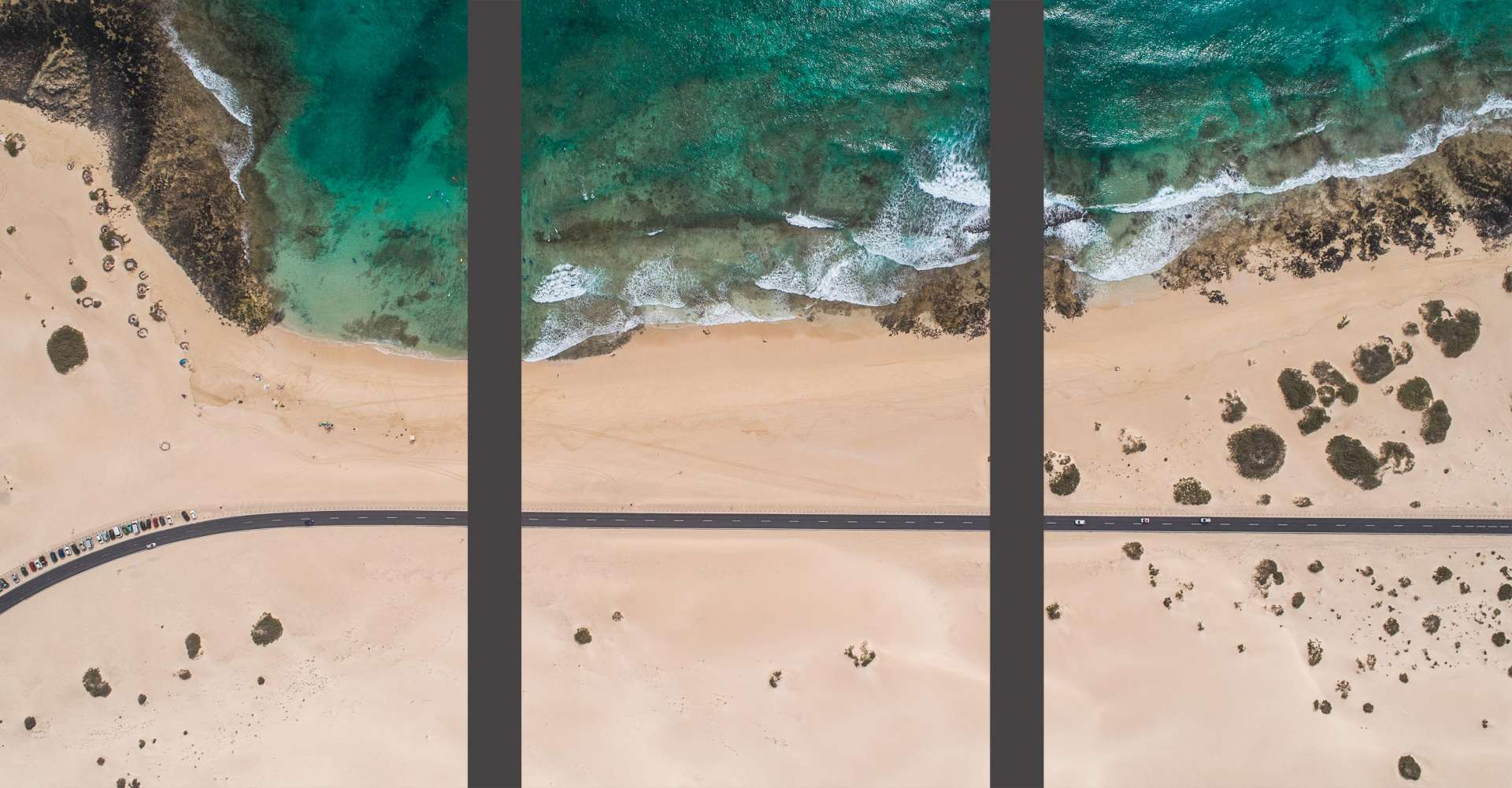 Fuerteventura Corralejo Dunes Park Wallpaper Wall Art