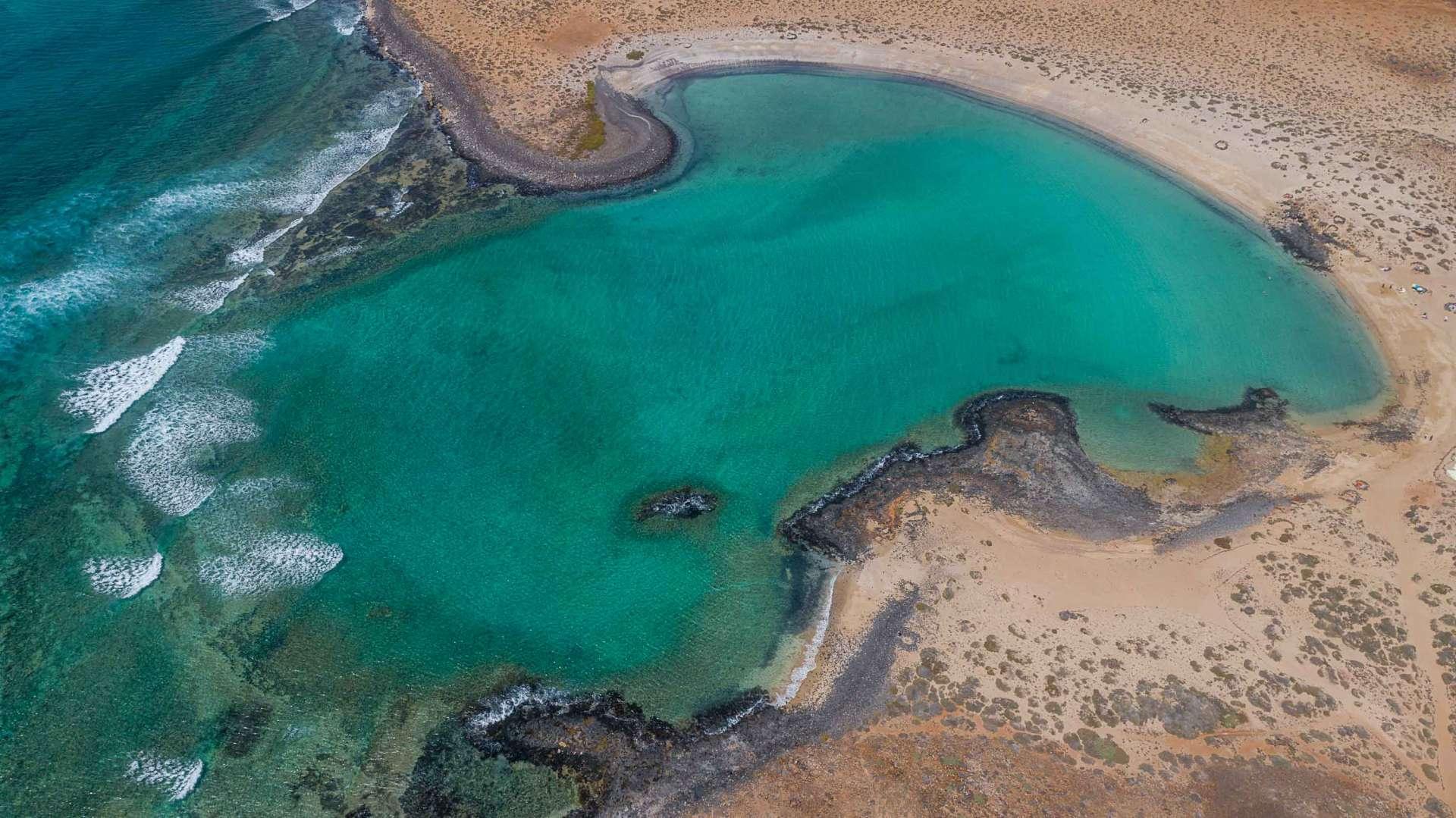 Fuerteventura Playa de la Concha de Lobos