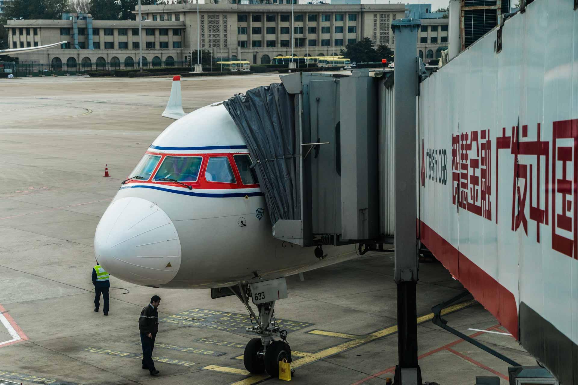 A Red Superhero in North Korea Enrico Pescantini koryo airline
