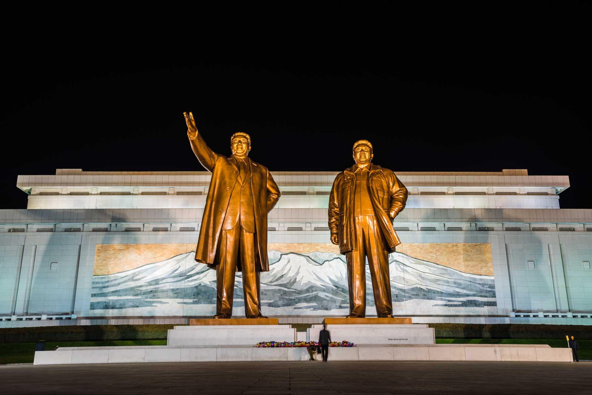A Red Superhero in North Korea Enrico Pescantini mansu hill monument
