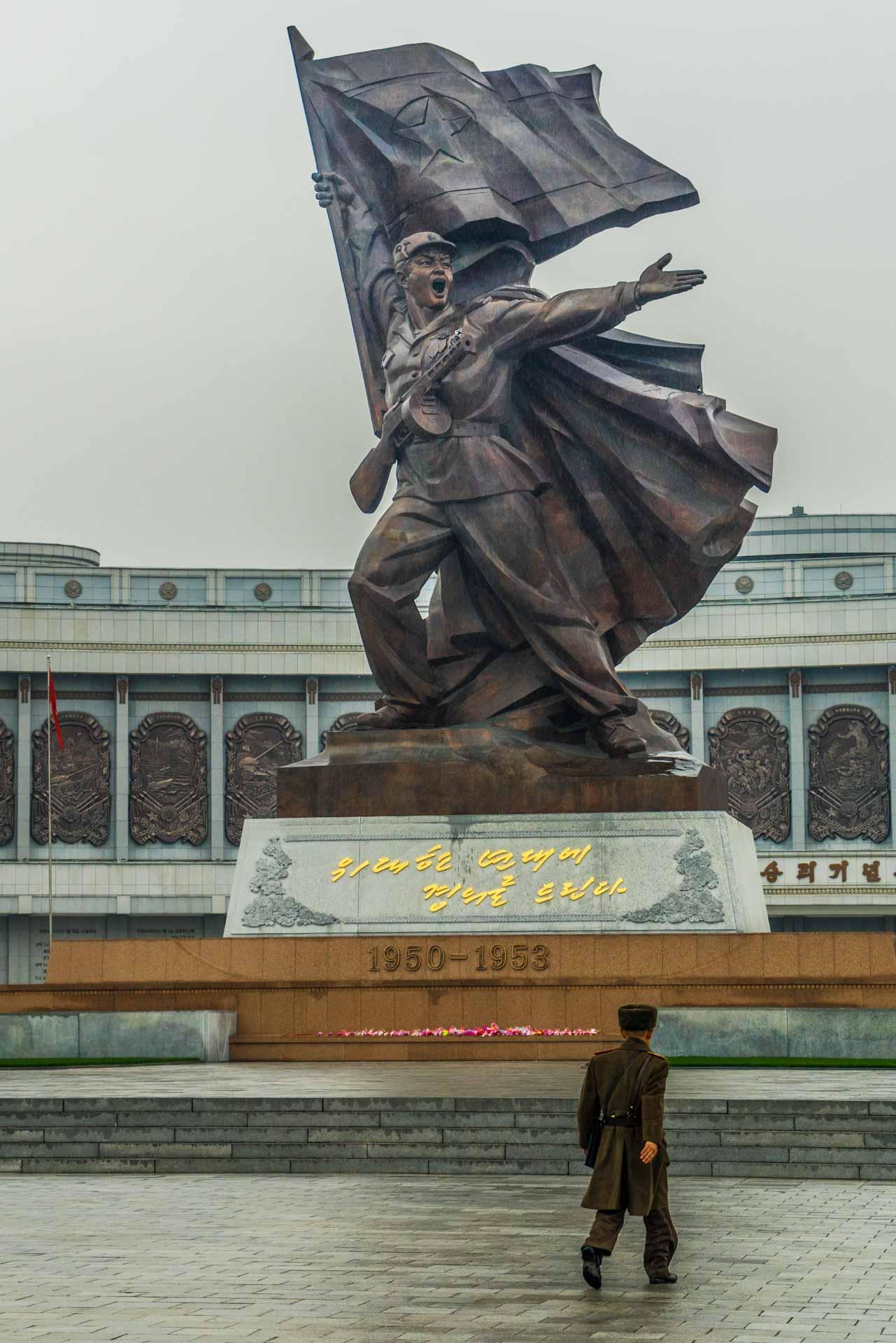 A Red Superhero in North Korea Enrico Pescantini pyongyang Victorious War Museum 2
