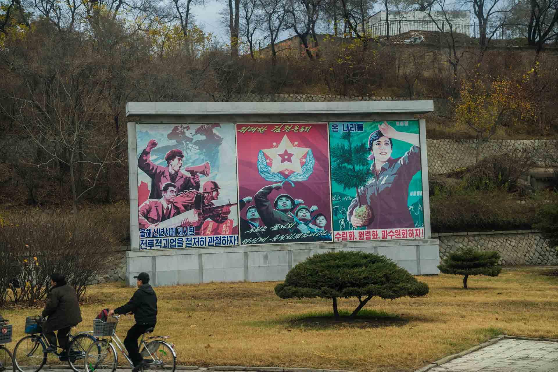 A Red Superhero in North Korea Enrico Pescantini pyongyang propaganda art