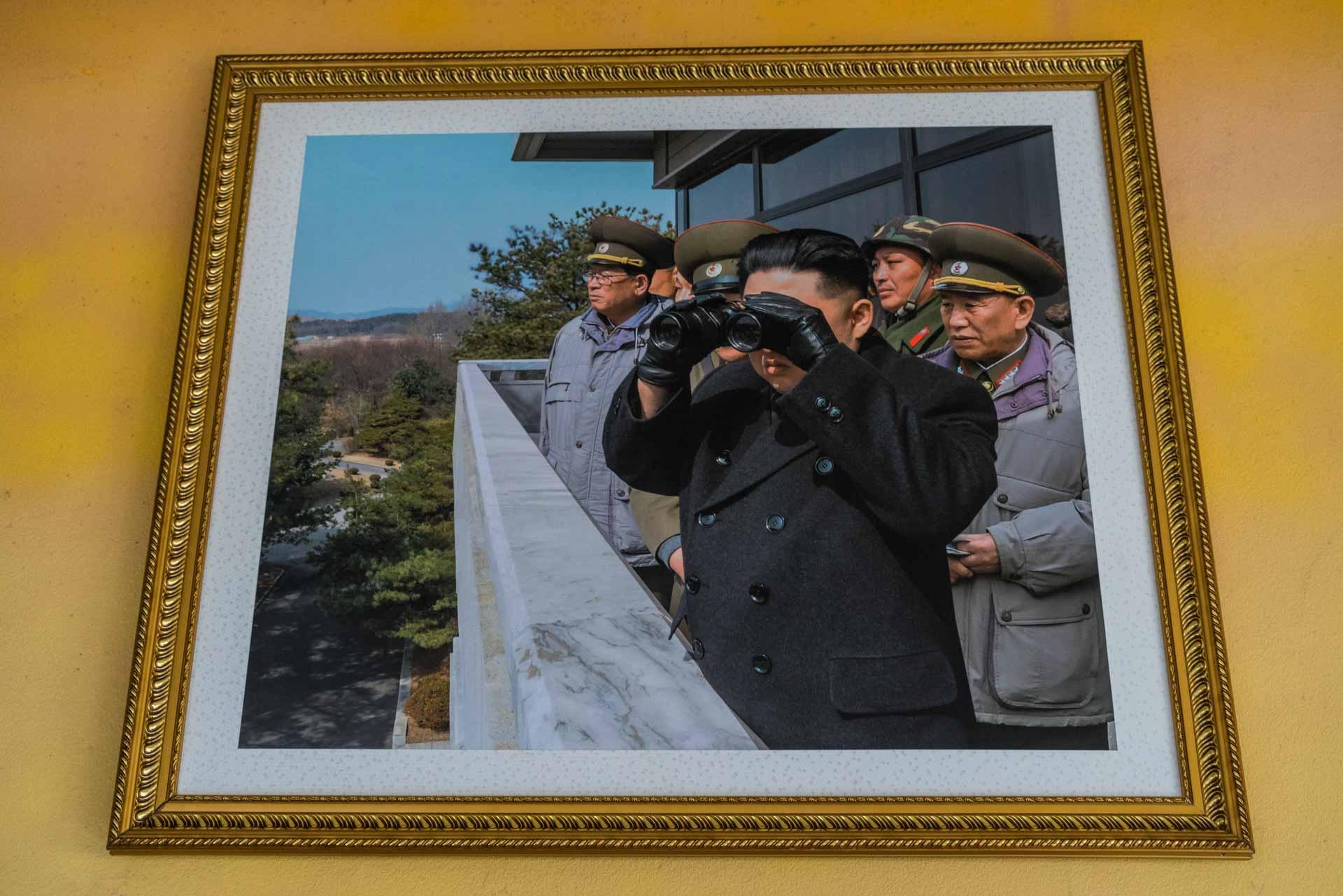 A Red Superhero in North Korea Enrico Pescantini DMZ 38 parallel 3
