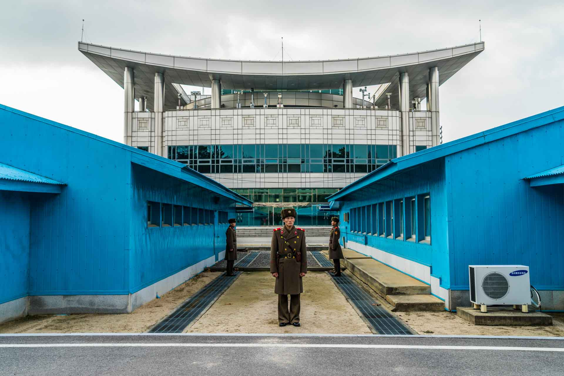 A Red Superhero in North Korea Enrico Pescantini DMZ 38 parallel