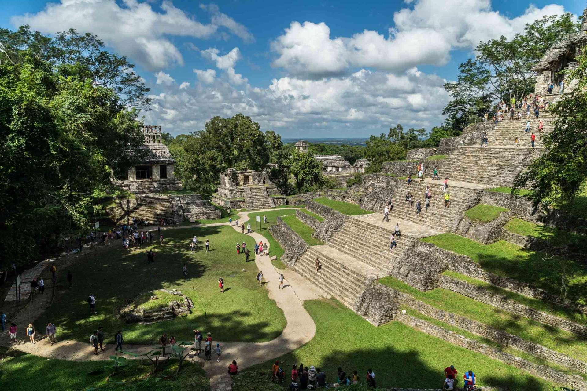 Palenque Mexico Enrico Pescantini