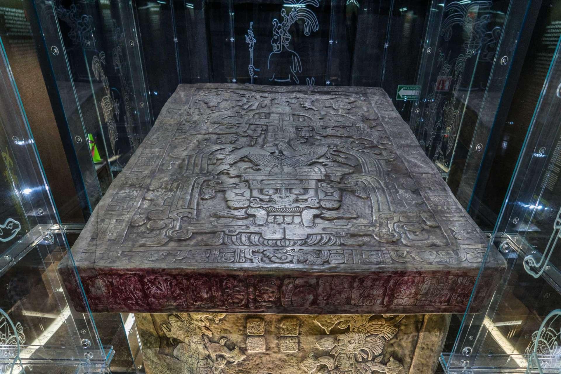 Pakal's Sarcophagus lid Palenque Mexico Enrico Pescantini 4