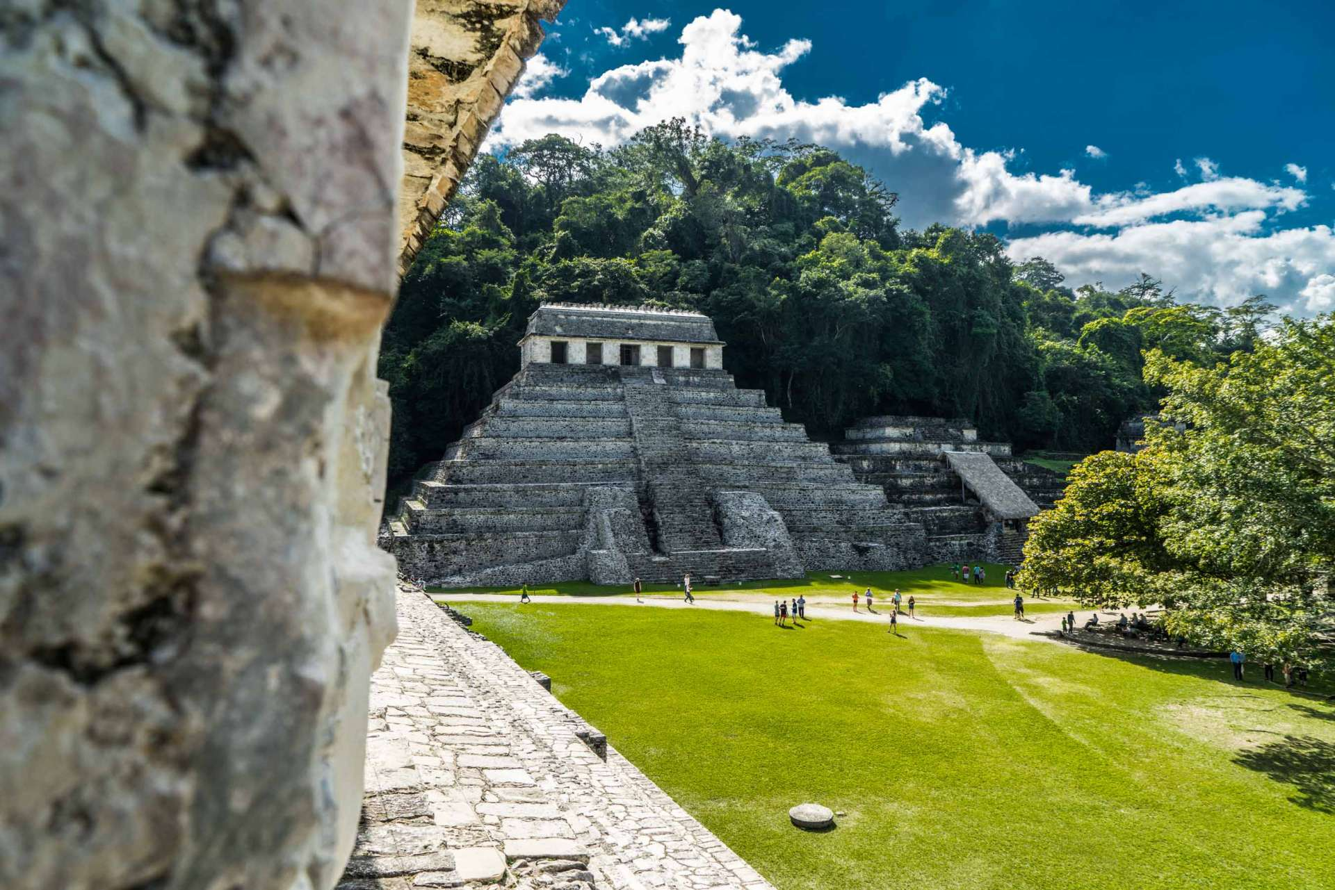 Palenque The Palace Mexico Enrico Pescantini 6