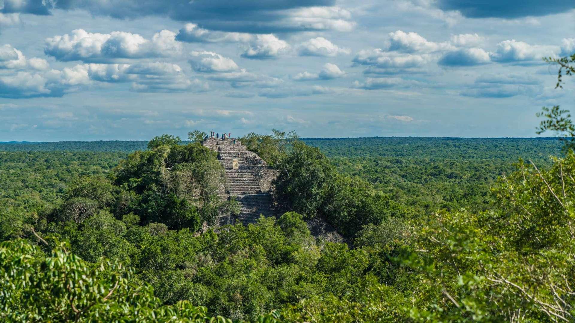 Calakmul Yucatan Mexico Enrico Pescantini