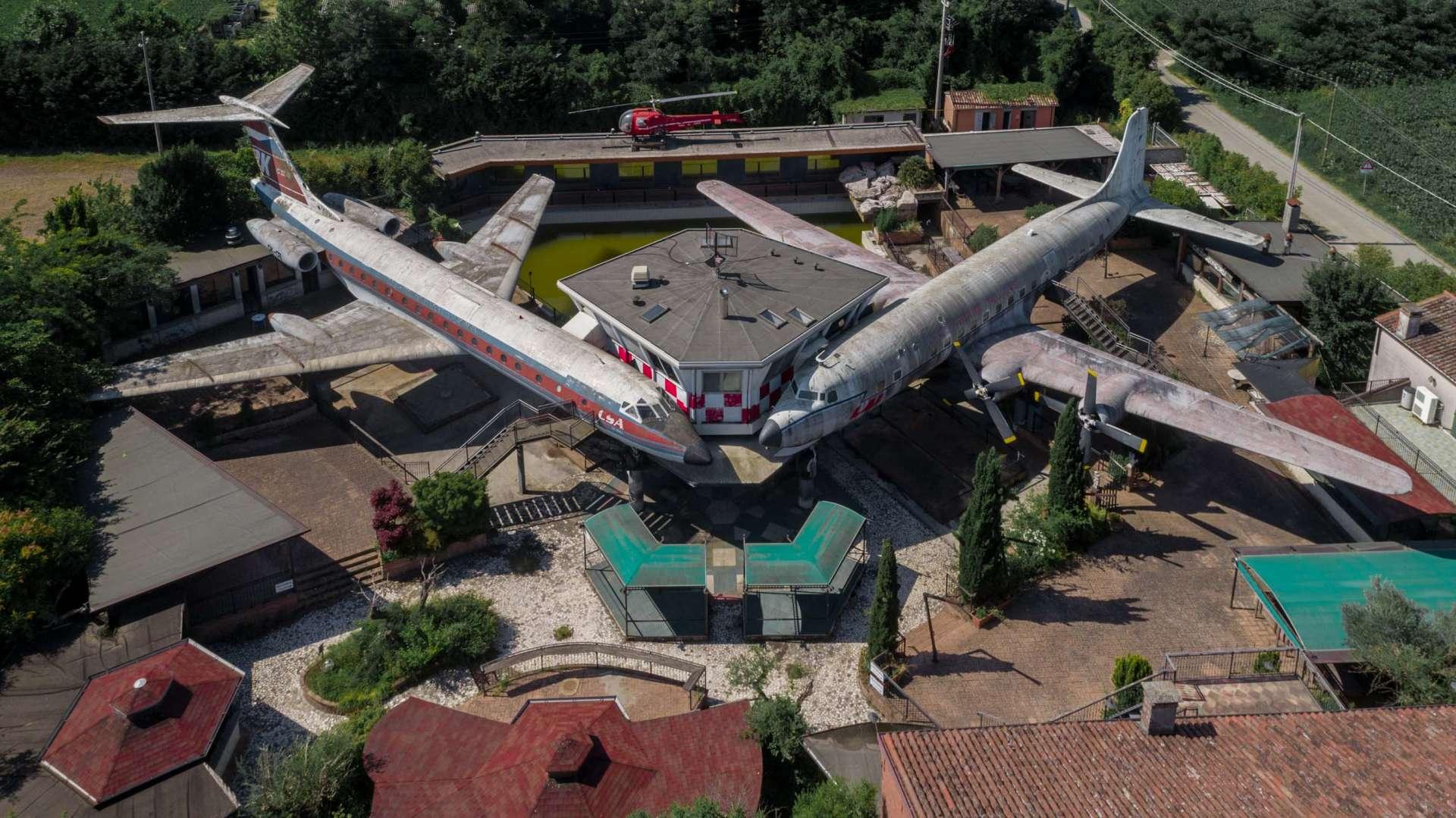 Lost Planes of Michelangelo da Vinci Villamarzana Rovigo 2
