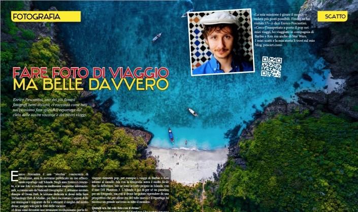 Dronezine enrico pescantini fotografia viaggio droni