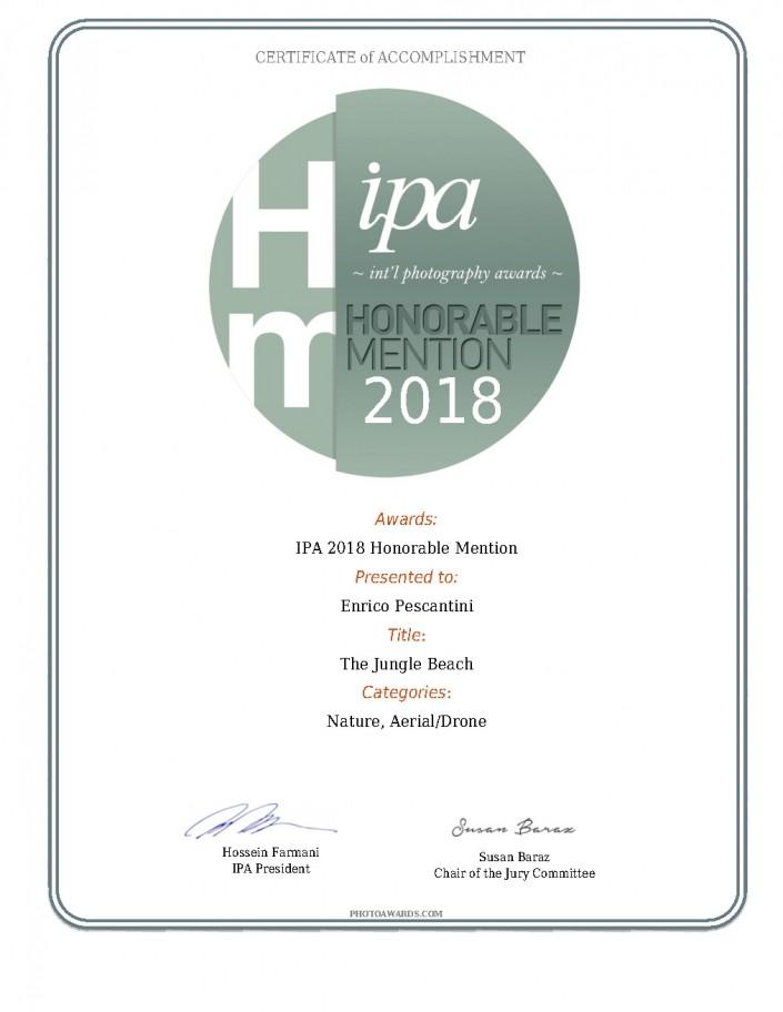 IPA 2018 International Photography Awards 2018 Enrico Pescantini Honorable Mention Jungle Beach 2