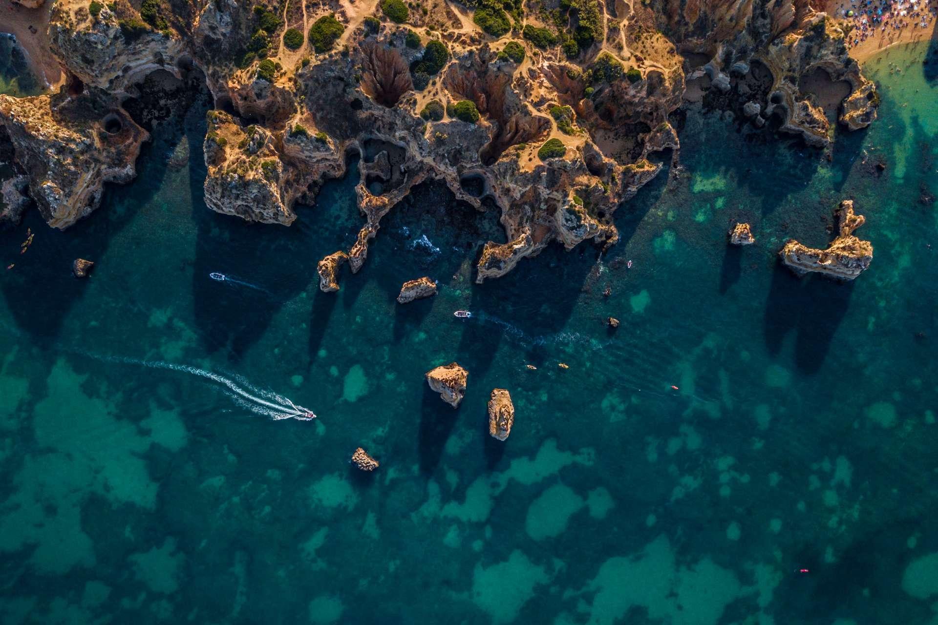 Algarve From Above Drone Photography Enrico Pescantini Between Praia dos Pinheiros and Praia do Camilo