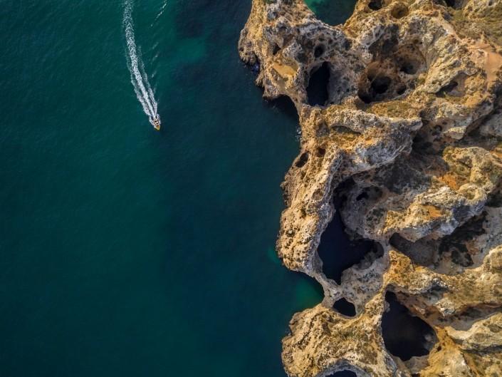 Algarve From Above Drone Photography Enrico Pescantini Between Praia dos Pinheiros and Praia do Camilo 2