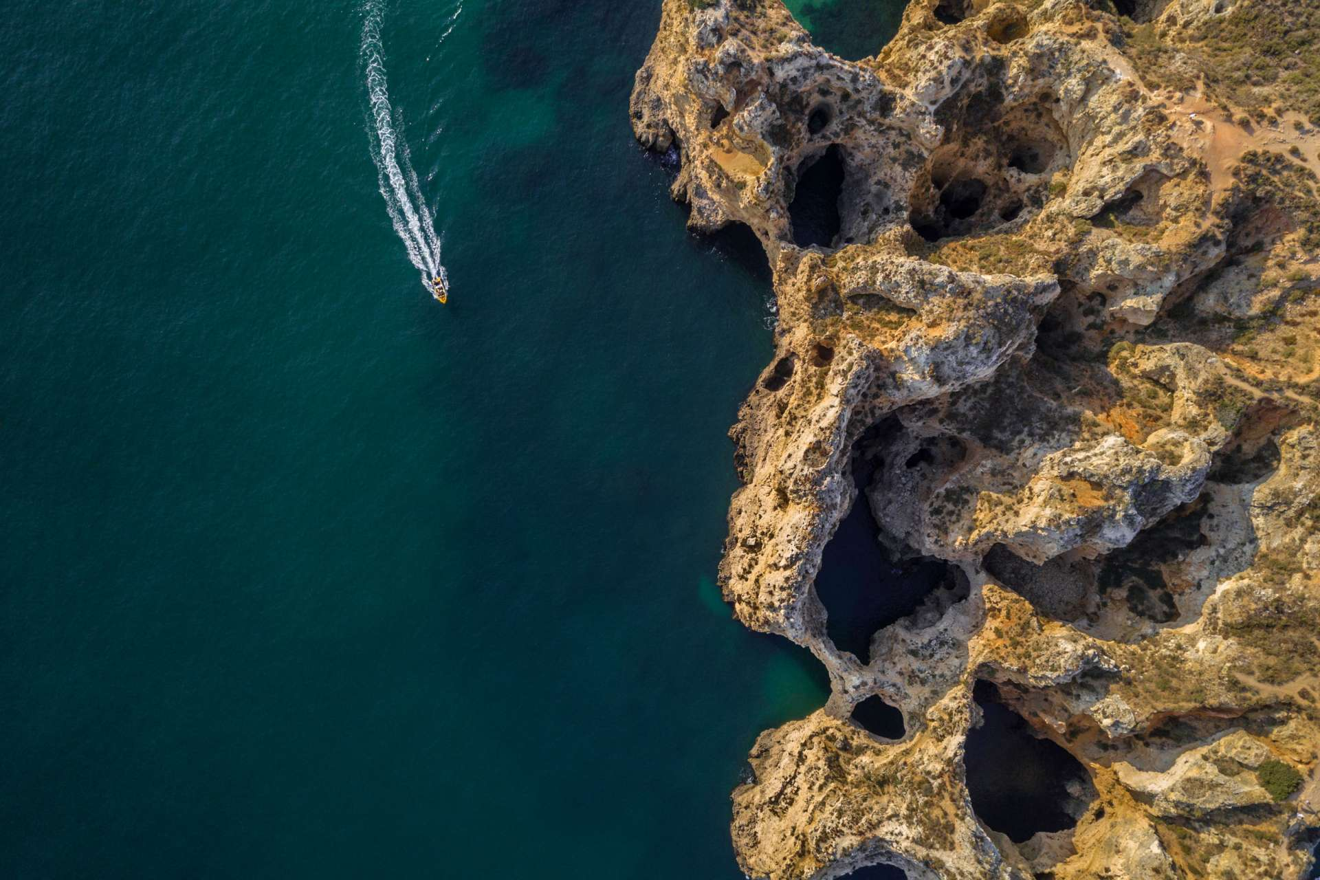 Algarve From Above Drone Photography Enrico Pescantini Between Praia dos Pinheiros and Praia do Camilo 2