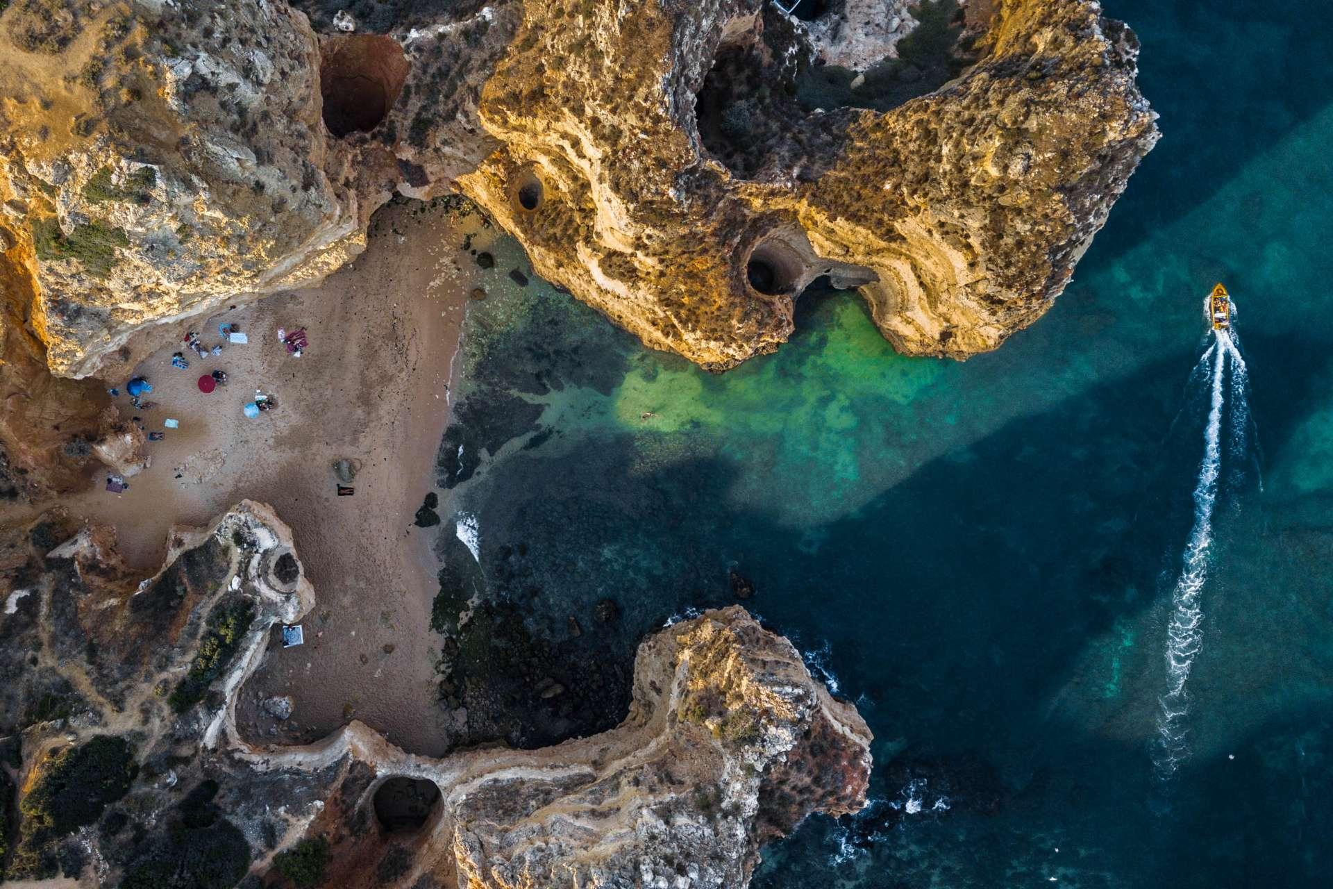 Algarve From Above Drone Photography Enrico Pescantini Praia dos Pinheiros