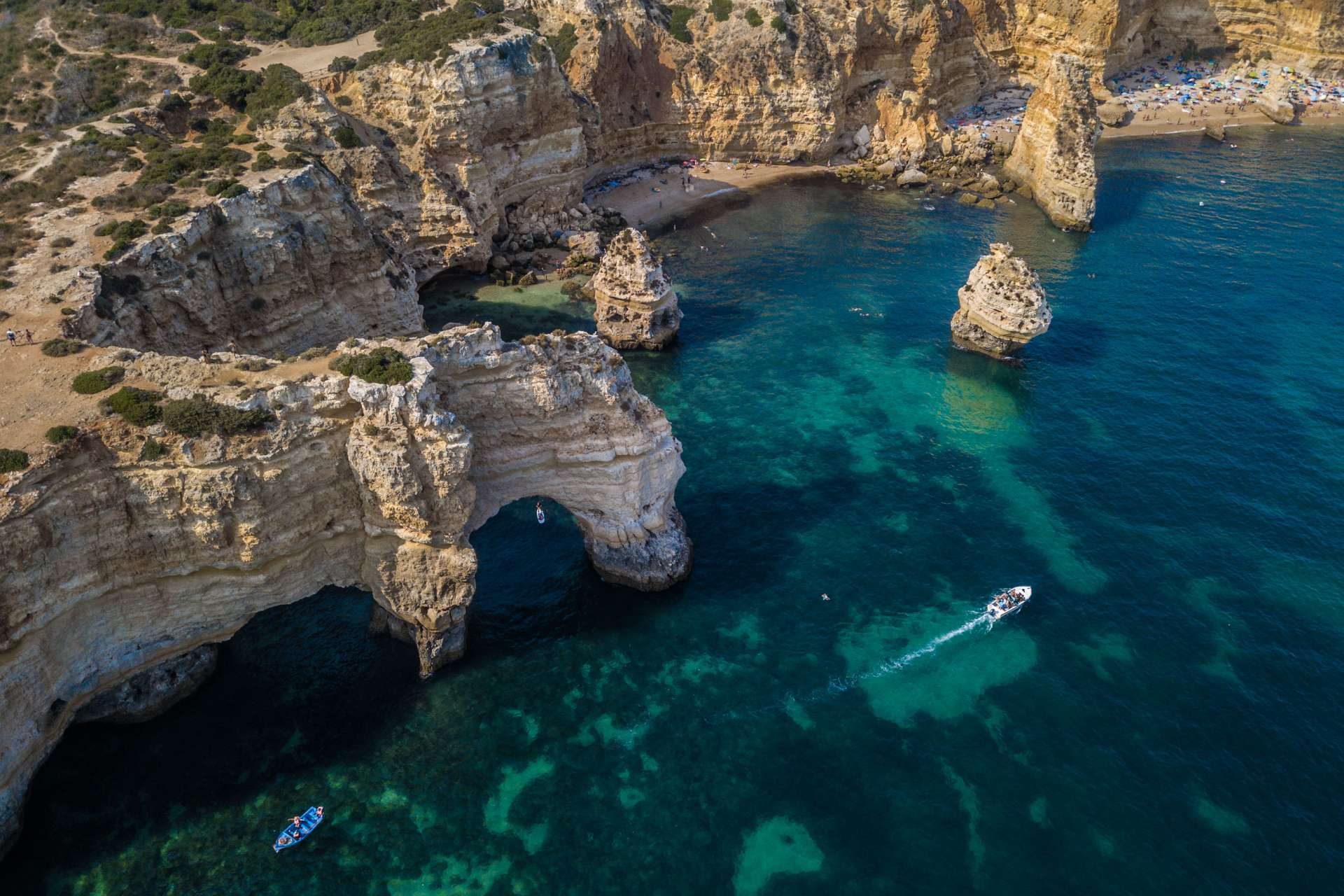 Algarve From Above Drone Photography Enrico Pescantini Praia do Camilo