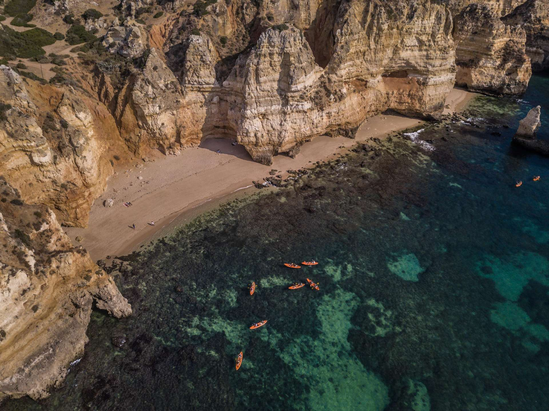 Algarve From Above Drone Photography Enrico Pescantini Praia da Balança