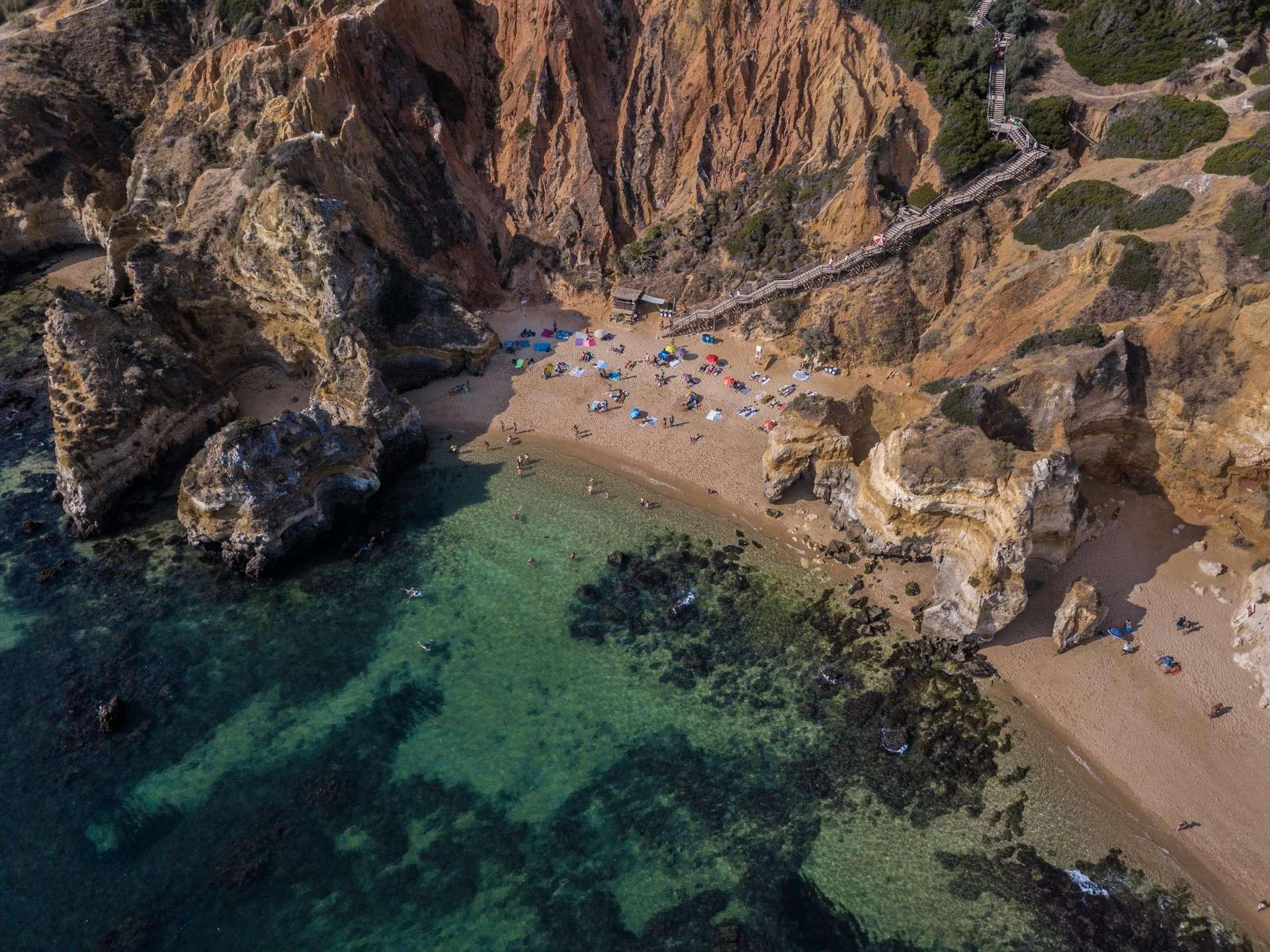 Algarve From Above Drone Photography Enrico Pescantini Praia do Camilo