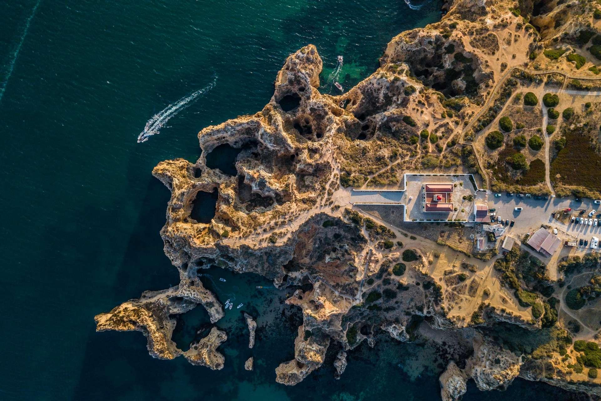 Algarve From Above Drone Photography Enrico Pescantini Farolda Ponta da Piedade 2