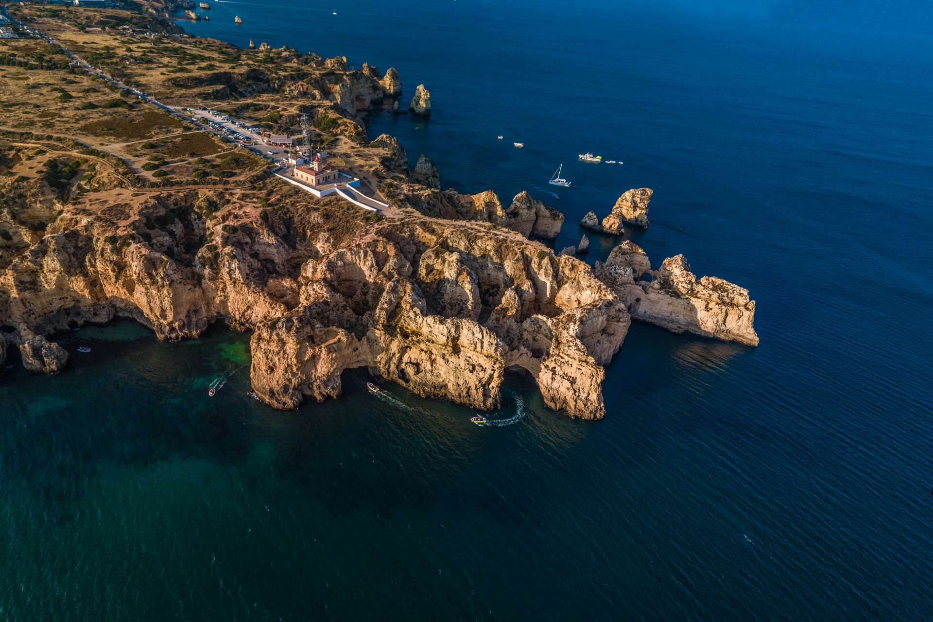Algarve From Above Drone Photography Enrico Pescantini Farolda Ponta da Piedade
