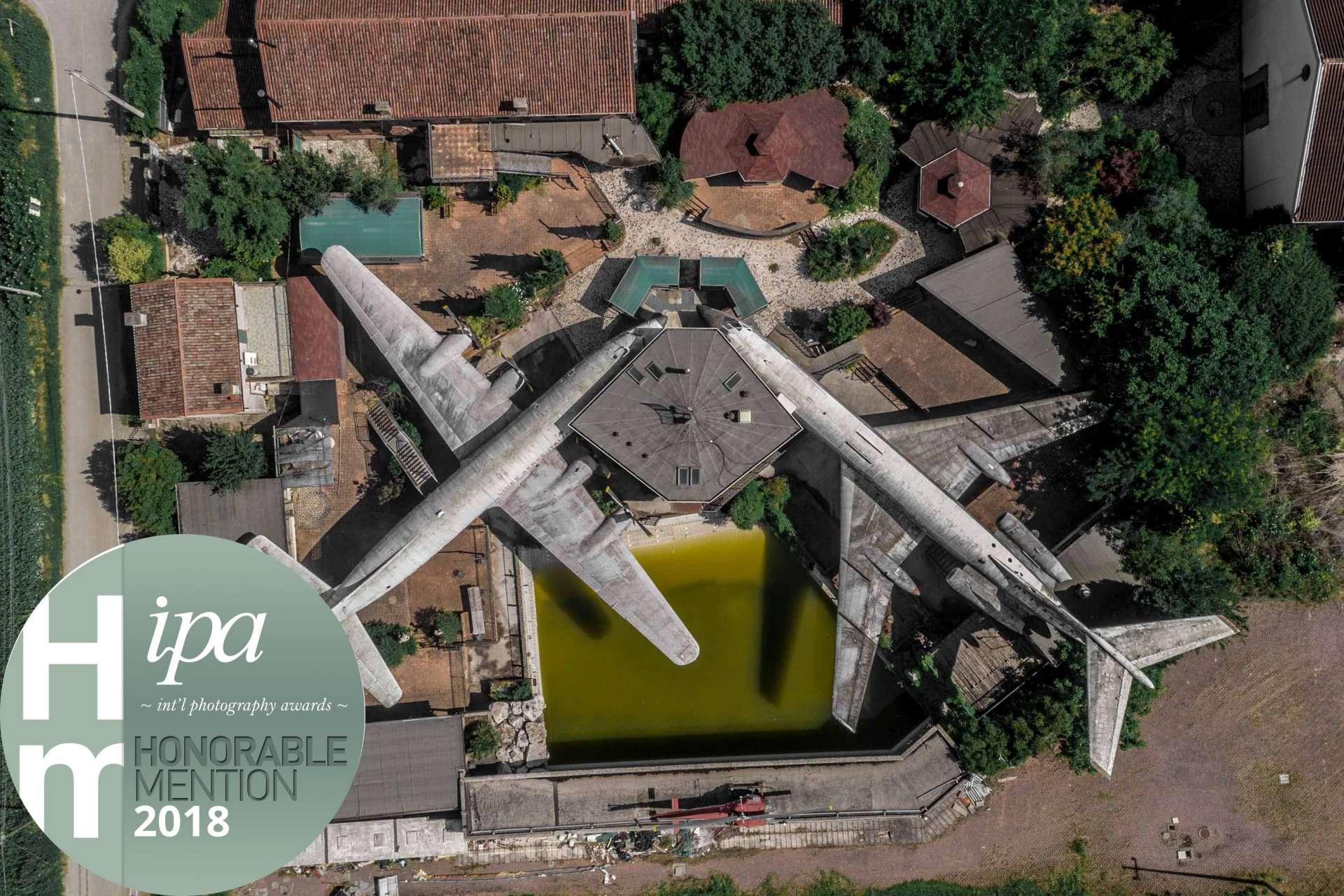 IPA 2018 International Photography Awards 2018 Enrico Pescantini Honorable Mention Lost Planes of Michelangelo