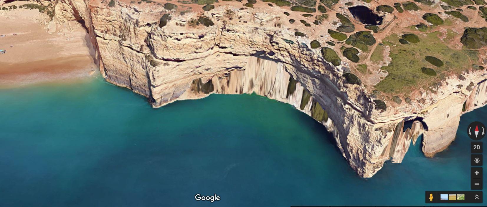 benagil beach to benagil cave easy swimming