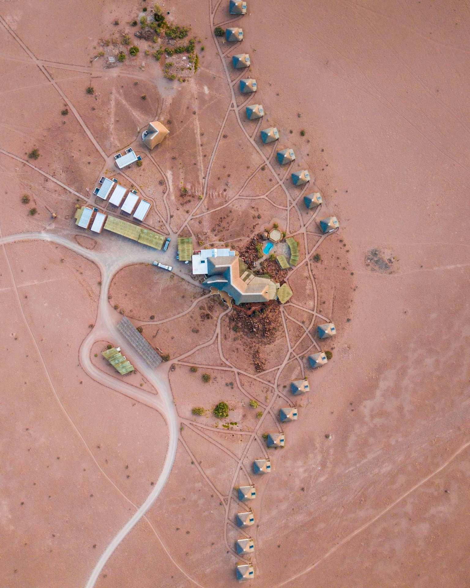 Namibia Enrico Pescantini Travel Photographer drone aerial soussuvlei Desert Homestead Lodge